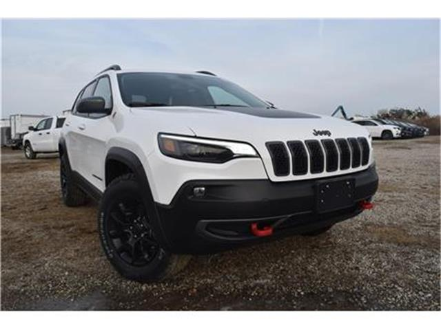 2020 Jeep Cherokee Trailhawk (Stk: 95514) in St. Thomas - Image 1 of 28