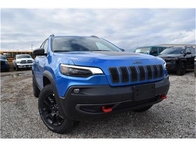 2020 Jeep Cherokee Trailhawk (Stk: 95543) in St. Thomas - Image 1 of 27