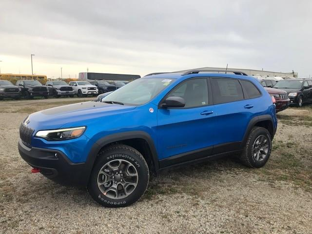 2021 Jeep Cherokee Trailhawk (Stk: 95936) in St. Thomas - Image 1 of 18