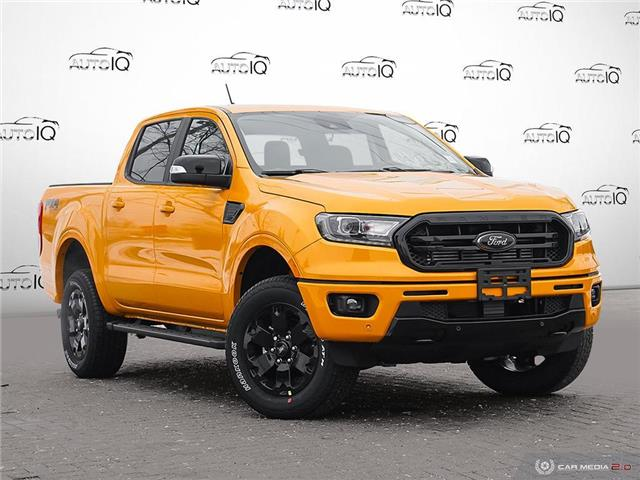 2021 Ford Ranger Lariat (Stk: W0070) in Barrie - Image 1 of 27