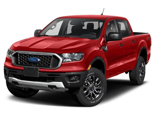 2021 Ford Ranger XLT Red