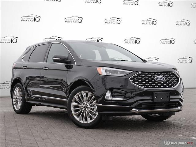 2020 Ford Edge Titanium (Stk: U1236) in Barrie - Image 1 of 27