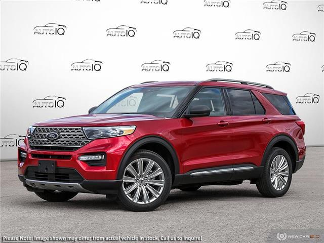 2020 Ford Explorer Limited Red