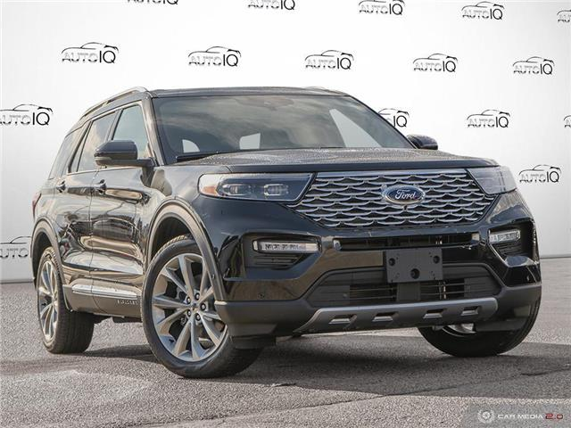 2021 Ford Explorer Platinum (Stk: 1T002) in Oakville - Image 1 of 25
