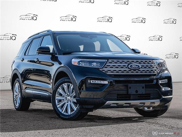2021 Ford Explorer Limited Black