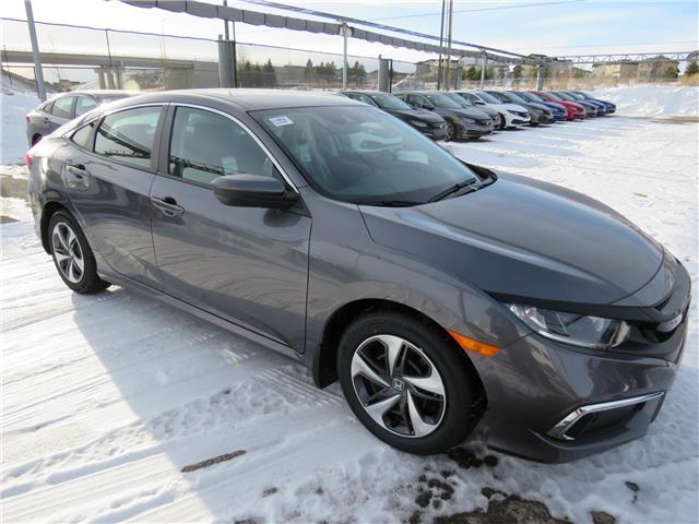 2021 Honda Civic LX (Stk: 210060) in Airdrie - Image 1 of 8