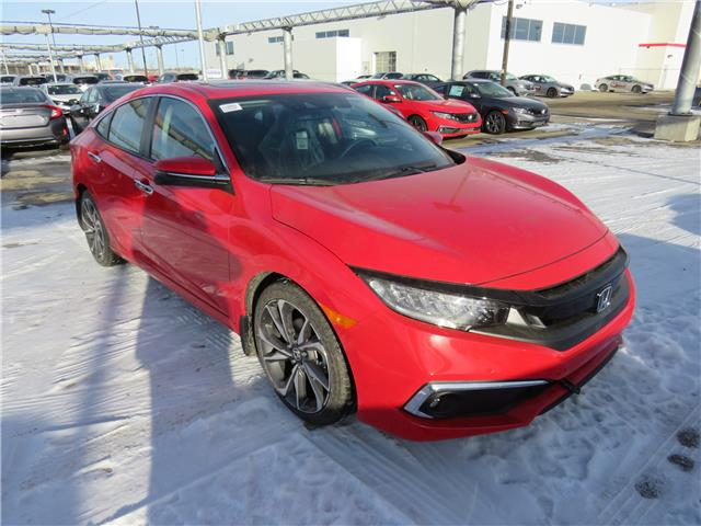 2021 Honda Civic Touring (Stk: 210088) in Airdrie - Image 1 of 8