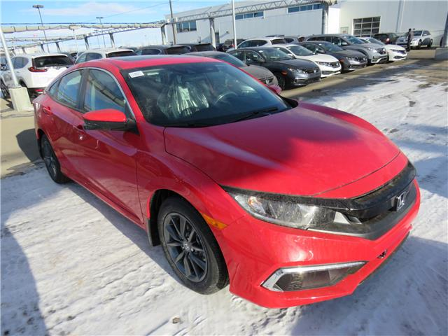 2021 Honda Civic EX (Stk: 210097) in Airdrie - Image 1 of 8