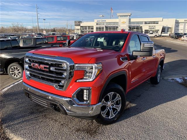 2021 GMC Sierra 1500 SLT (Stk: MG118498) in Calgary - Image 1 of 30