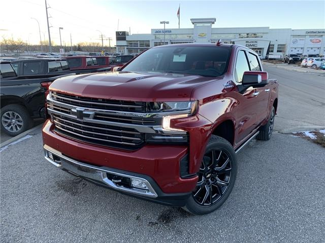 2021 Chevrolet Silverado 1500 High Country (Stk: MZ153862) in Calgary - Image 1 of 30