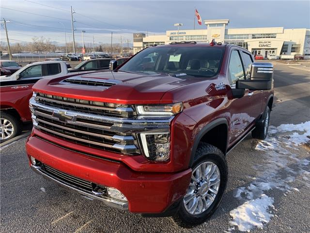 2021 Chevrolet Silverado 3500HD High Country (Stk: MF147568) in Calgary - Image 1 of 32