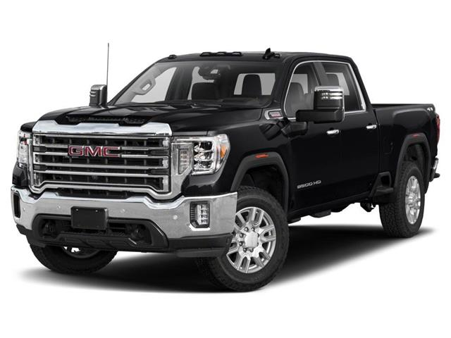 2021 GMC Sierra 2500HD SLT (Stk: MF161124) in Calgary - Image 1 of 9