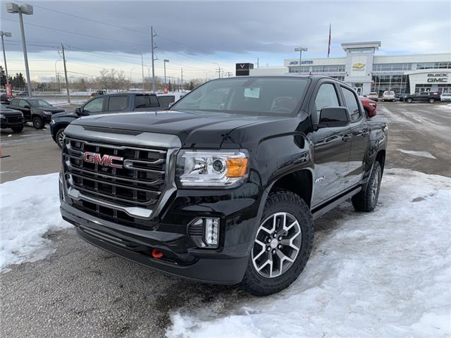2021 GMC Canyon AT4 w/Cloth (Stk: M1179400) in Calgary - Image 1 of 29