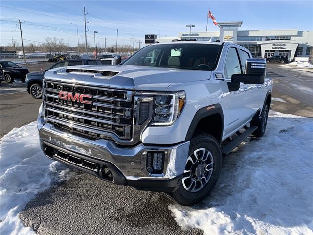 2021 GMC Sierra 3500HD SLT (Stk: MF153621) in Calgary - Image 1 of 30