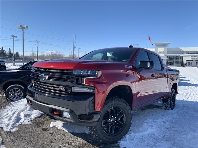 2021 Chevrolet Silverado 1500 LT Trail Boss (Stk: MZ229300) in Calgary - Image 1 of 29
