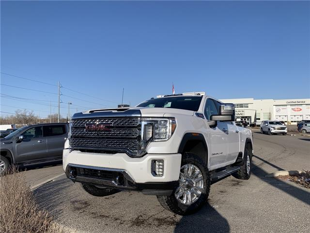 2021 GMC Sierra 3500HD Denali (Stk: MF212135) in Calgary - Image 1 of 29