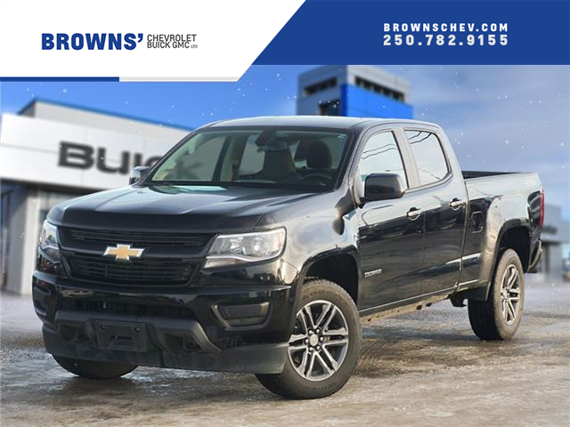 2019 Chevrolet Colorado WT (Stk: T21-1600A) in Dawson Creek - Image 1 of 15