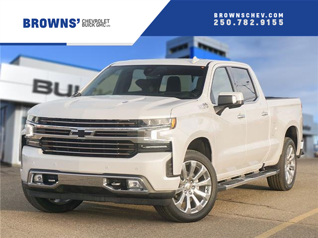 2021 Chevrolet Silverado 1500 High Country (Stk: T21-1663) in Dawson Creek - Image 1 of 14