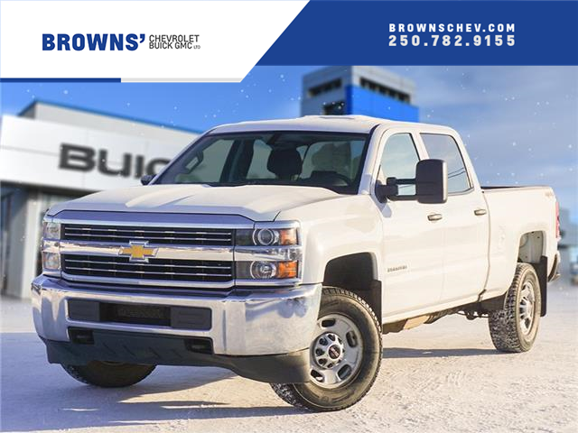 2016 Chevrolet Silverado 2500HD WT (Stk: T21-1780A) in Dawson Creek - Image 1 of 15