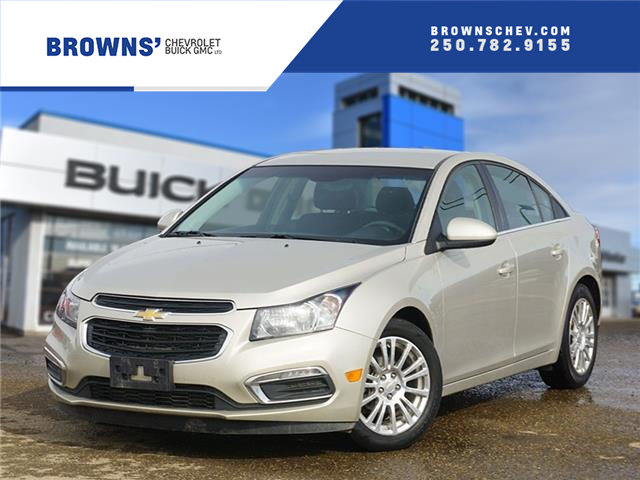 2015 Chevrolet Cruze ECO (Stk: T21-1548AA) in Dawson Creek - Image 1 of 16