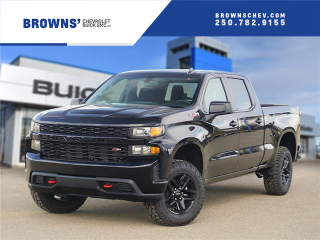 2021 Chevrolet Silverado 1500 Custom Trail Boss (Stk: T21-1907) in Dawson Creek - Image 1 of 15