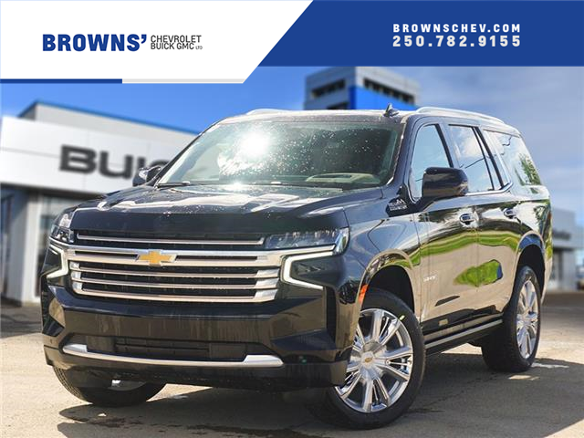 2021 Chevrolet Tahoe High Country (Stk: T21-1945) in Dawson Creek - Image 1 of 17