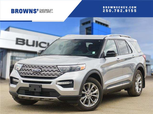 2020 Ford Explorer Limited (Stk: T21-1809A) in Dawson Creek - Image 1 of 15