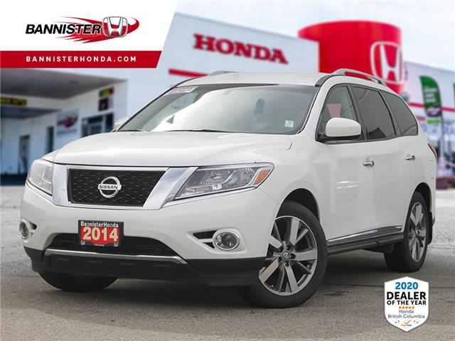 2014 Nissan Pathfinder Platinum (Stk: P20-096) in Vernon - Image 1 of 13