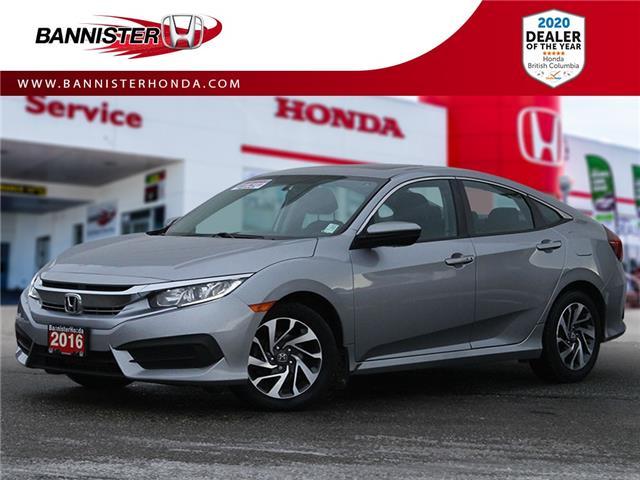 2016 Honda Civic EX (Stk: L21-002) in Vernon - Image 1 of 11