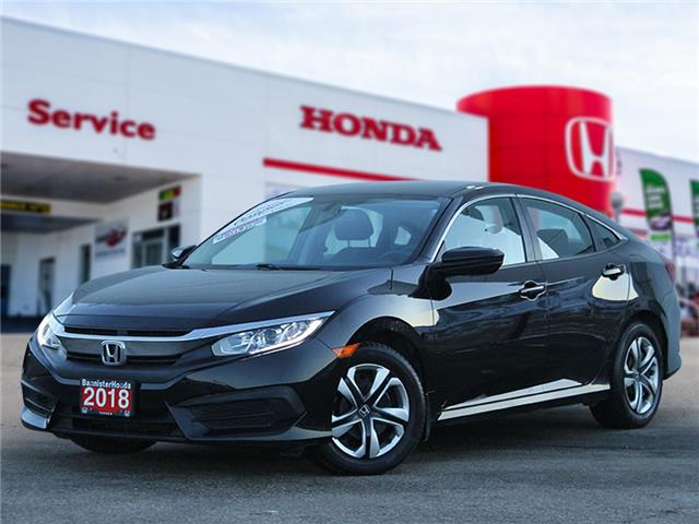 2018 Honda Civic LX (Stk: L21-006) in Vernon - Image 1 of 12