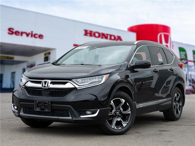 2018 Honda CR-V Touring (Stk: L21-084) in Vernon - Image 1 of 16