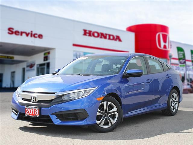 2018 Honda Civic LX (Stk: P21-076) in Vernon - Image 1 of 15