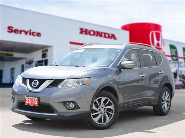 2015 Nissan Rogue SL (Stk: P21-101) in Vernon - Image 1 of 16