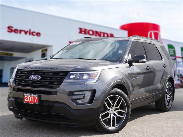 2017 Ford Explorer Sport (Stk: P21-129) in Vernon - Image 1 of 20