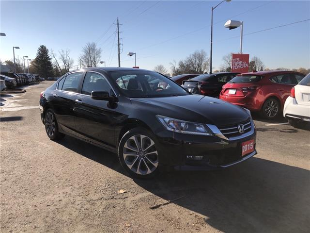 2015 Honda Accord Sport (Stk: P2334A) in Whitchurch-Stouffville - Image 1 of 17