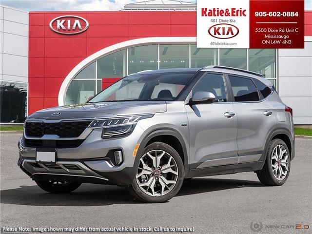 2021 Kia Seltos SX Turbo (Stk: SE21096) in Mississauga - Image 1 of 23