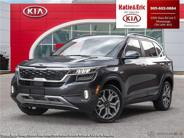 2021 Kia Seltos SX Turbo (Stk: SE21100) in Mississauga - Image 1 of 23