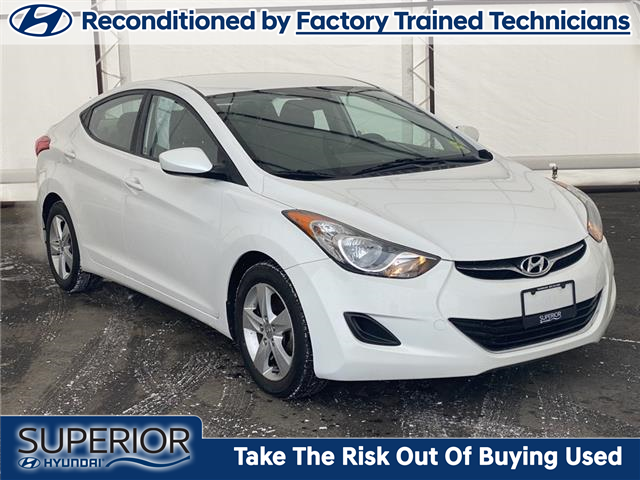 2013 Hyundai Elantra GL (Stk: 17024A) in Thunder Bay - Image 1 of 16