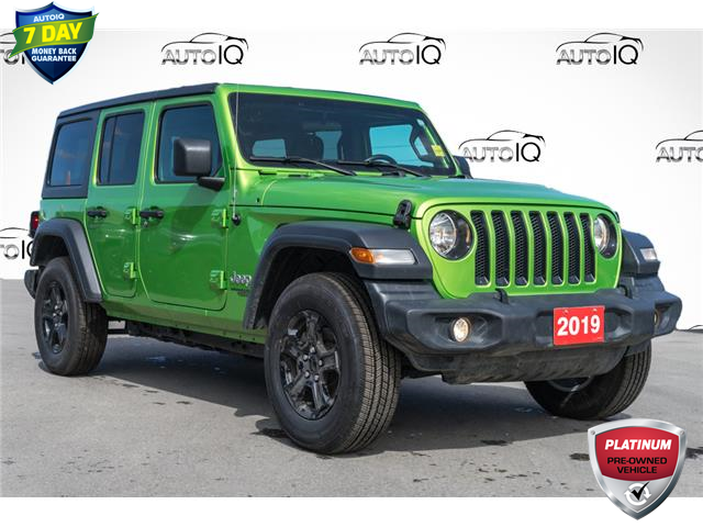 2019 Jeep Wrangler Unlimited Sport (Stk: 43964AU) in Innisfil - Image 1 of 26