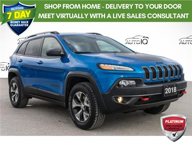 2018 Jeep Cherokee Trailhawk (Stk: 44213AU) in Innisfil - Image 1 of 23