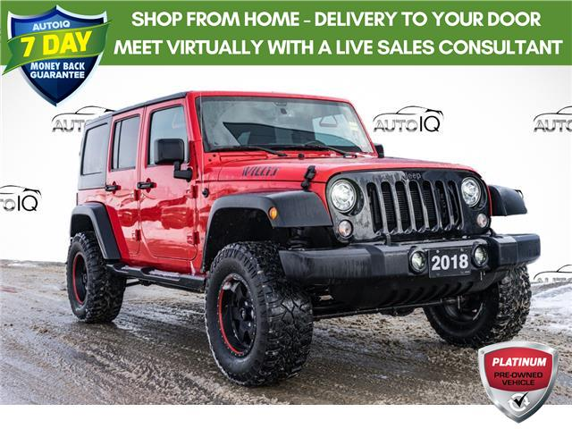 2018 Jeep Wrangler JK Unlimited Sport (Stk: 44100AU) in Innisfil - Image 1 of 23