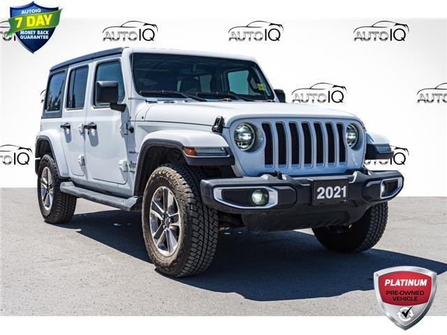 2021 Jeep Wrangler Unlimited Sahara (Stk: 44817AU) in Innisfil - Image 1 of 23