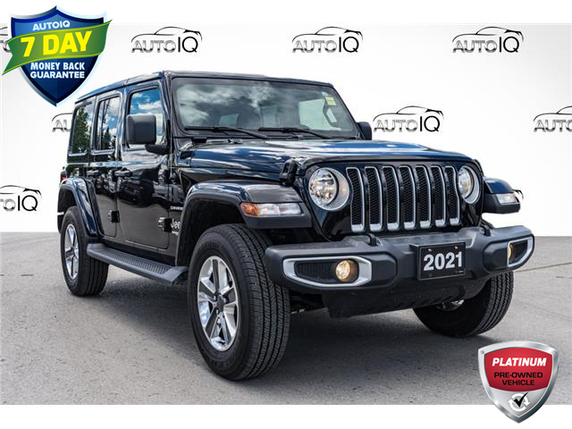 2021 Jeep Wrangler Unlimited Sahara (Stk: 10865UQR) in Innisfil - Image 1 of 25