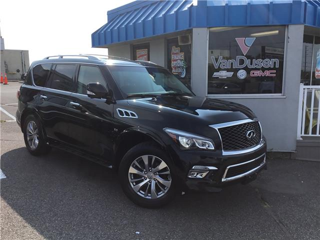 2017 Infiniti QX80 Base 7 Passenger (Stk: B7773) in Ajax - Image 1 of 25