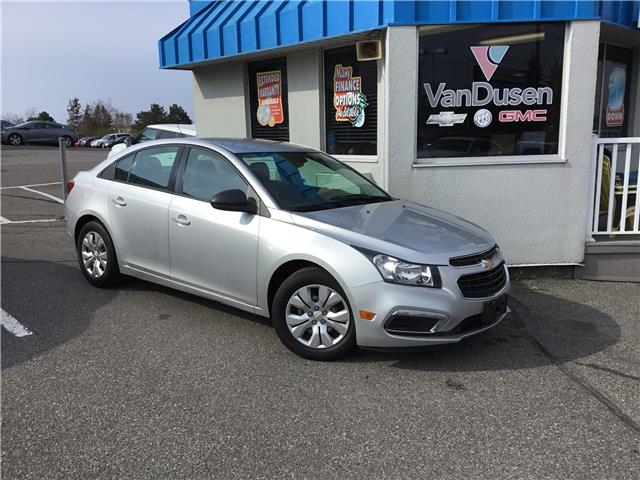 2015 Chevrolet Cruze 2LS (Stk: B7896A) in Ajax - Image 1 of 22