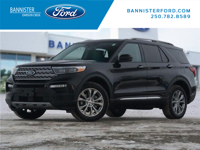 2021 Ford Explorer Limited (Stk: S210007) in Dawson Creek - Image 1 of 18