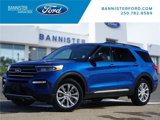 2021 Ford Explorer XLT (Stk: S210084) in Dawson Creek - Image 1 of 22