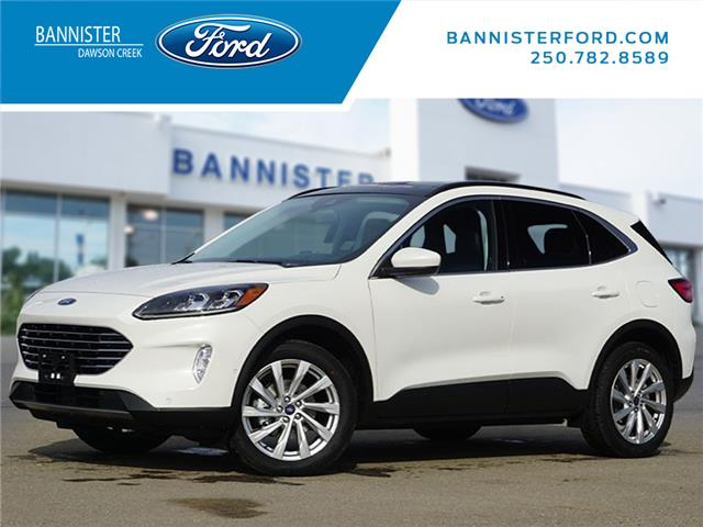 2021 Ford Escape Titanium (Stk: S210106) in Dawson Creek - Image 1 of 18