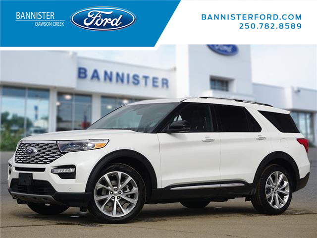 2021 Ford Explorer Platinum (Stk: S210146) in Dawson Creek - Image 1 of 23