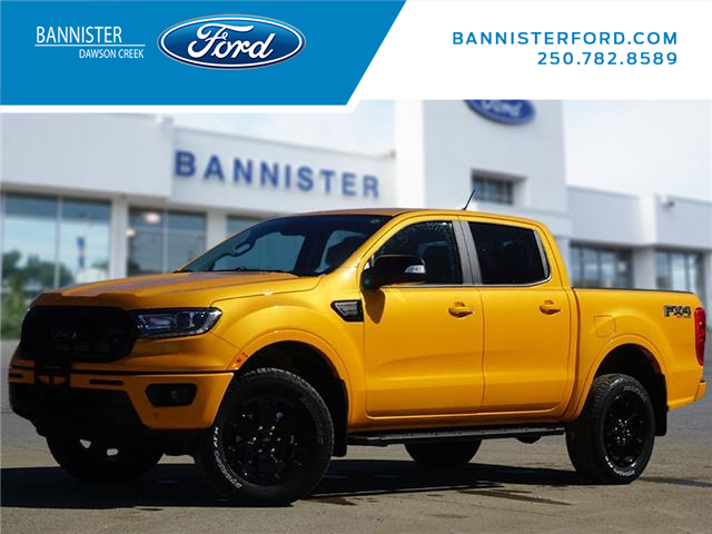2021 Ford Ranger Lariat (Stk: T210120) in Dawson Creek - Image 1 of 20